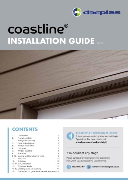Deeplas Coastline Installation Guide