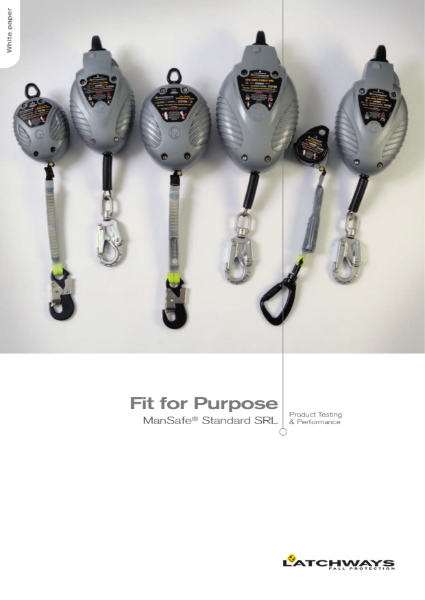 Fit for Purpose: Standard SRL