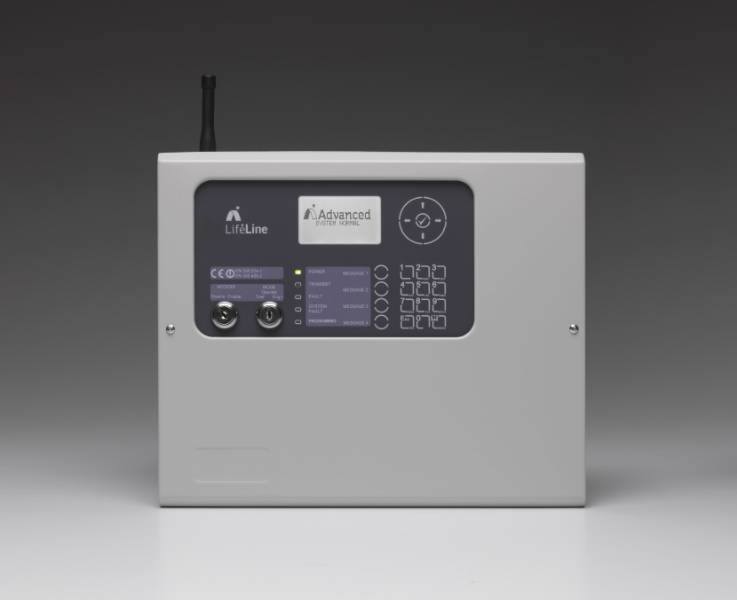 Lifeline Control Panel Radio Paging System