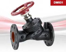 DM931 / DA931 Variable Orifice Double Regulating Valves