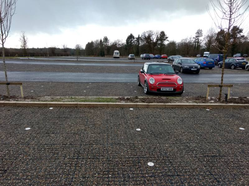 Suds Permeable Paving - Sudspave, Quarry Bank Mill,. Style, Cheshire, UK