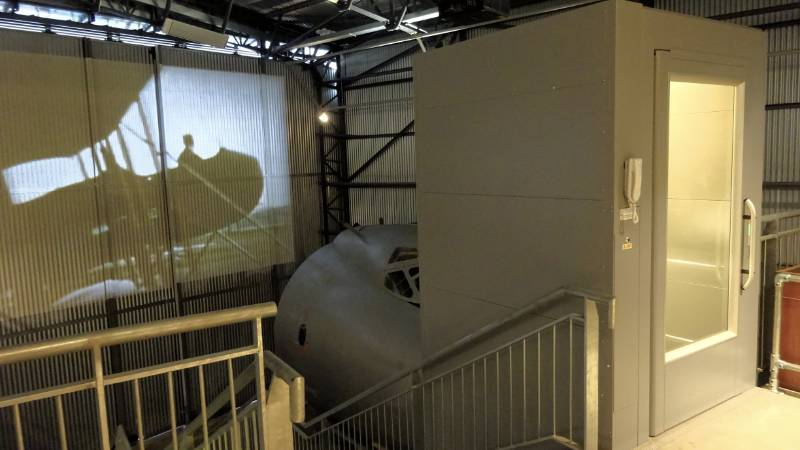 Viewing Platform at Brooklands Museum Accessible with Platform Lift