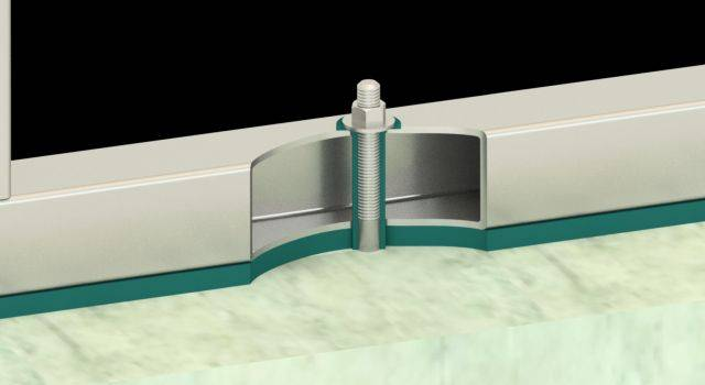 Steelwork Isolation System – Farrat CineSTEEL LITE