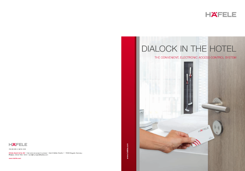 Dialock for the Hotel