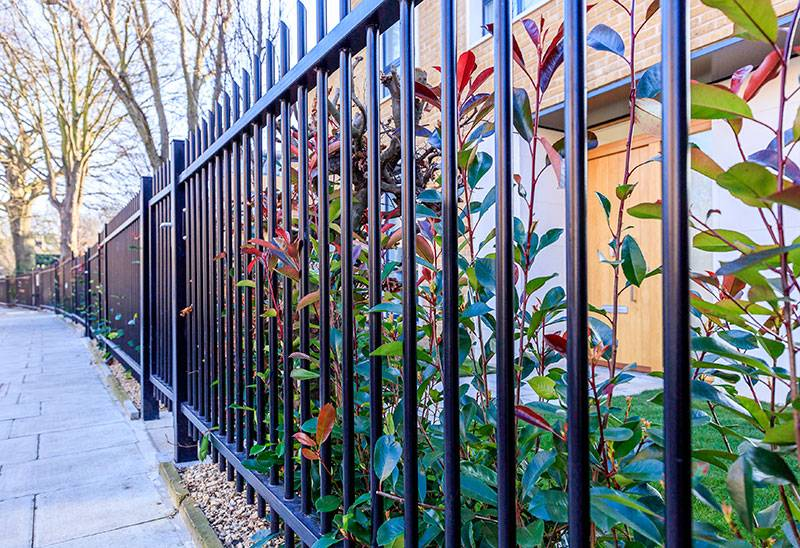 Ashchurch Villas benefit from a variety of Jacksons Fencing solutions