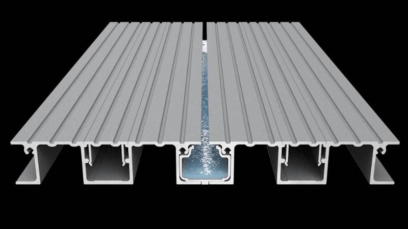 AliDeck Balcony Drainage System Drainage Channel