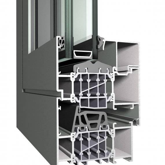 Aluminium Window CS 86 HI Concept System