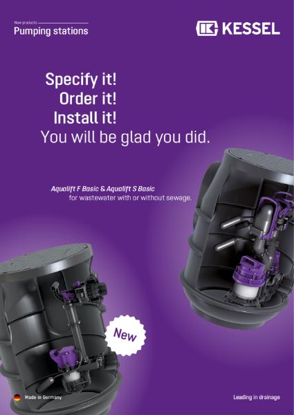 H8. KESSEL Basic Pumping Stations - Aqualift F & S Basic