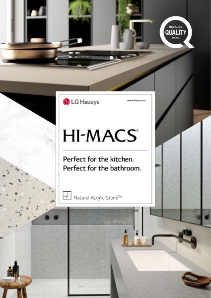 HI-MACS Kitchen and Bathroom collection 2021