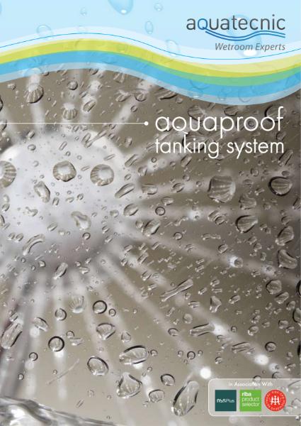 Aquatecnic Aquaproof Tanking System