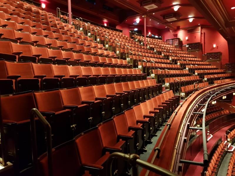 Theatre Seating: Mayflower Theatre, Southampton