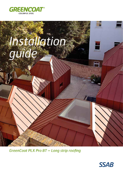 GreenCoat Installation Guide