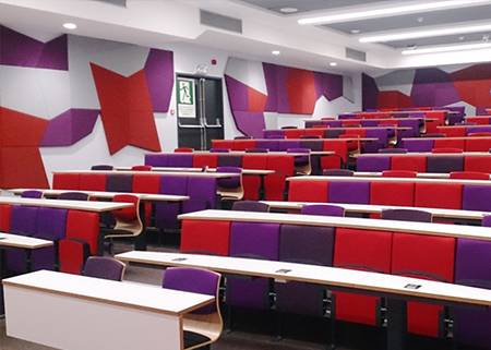 Cardiff University's Inova Turn and Learn Seating
