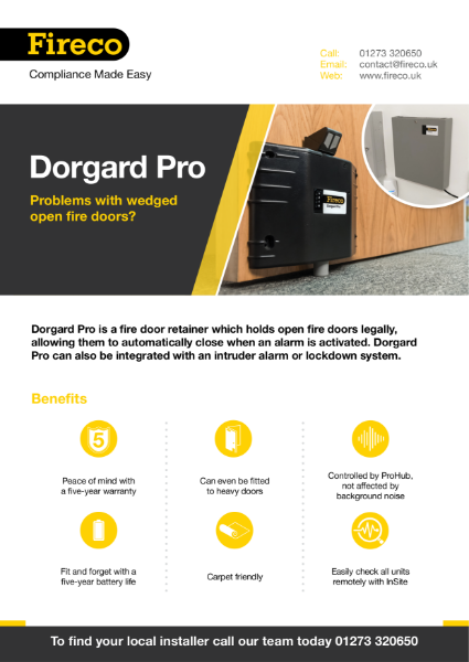 Dorgard Pro Product Brochure