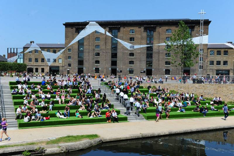 Kings Cross Granary Square