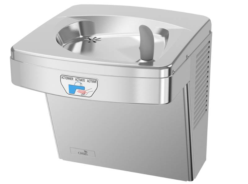 P8ACTY Hands-Free Wall Mounted Drinking Fountain