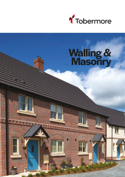 Walling & Masonary Brochure - Concrete Facing Bricks, Engineering Quality Concrete Bricks & Country Stone Concrete Blocks