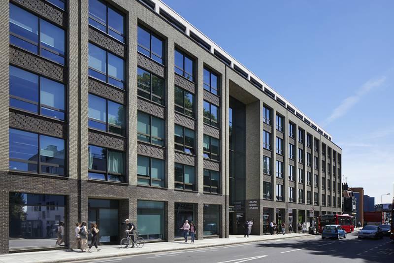 Stone Cladding - Grand Union Studios,The Ladbroke Grove, London - Limestone