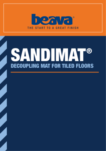 Sandimat  Decoupling Mat for Tiled Floors