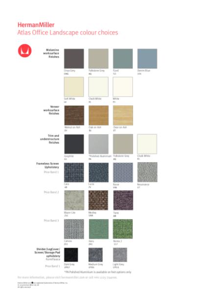 Atlas - Colour Choices