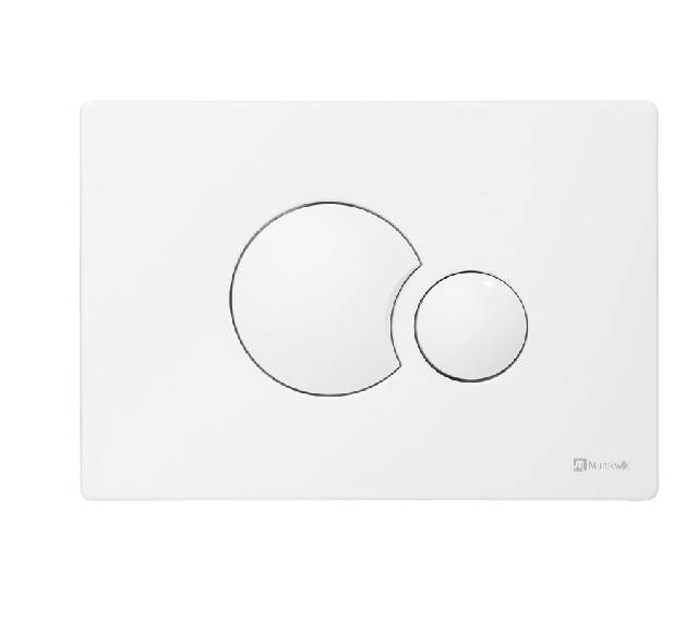 TRF0400E Multikwik Flush Plate - Eclipse (White Finish)