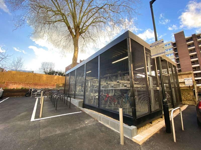 Carlton House – Bespoke 358 Mesh Security Enclosure