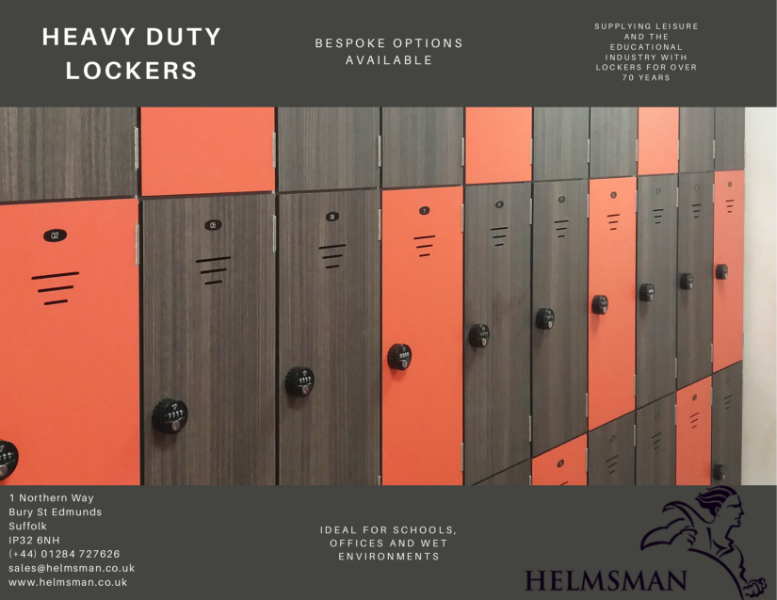 Heavy Duty Lockers (Wet Spec)