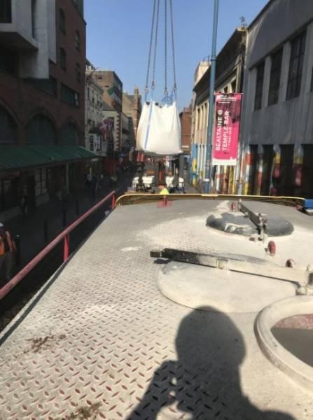 LiteFlo® Lightweight Flowing Screed | John Paul Construction | Fleet Street Dublin