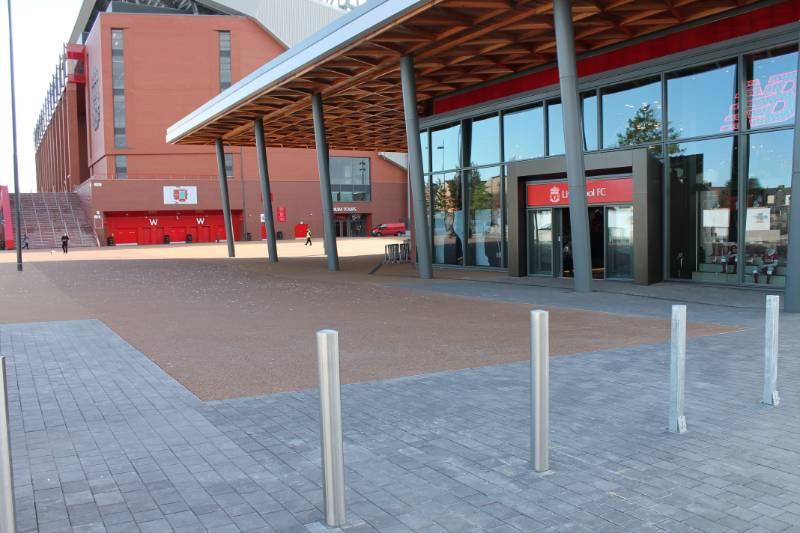BBA Certificate Terrabound Resin Bound Surfacing for Liverpool F.C. Retail Store
