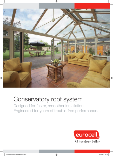 Conservatory Roof System guide
