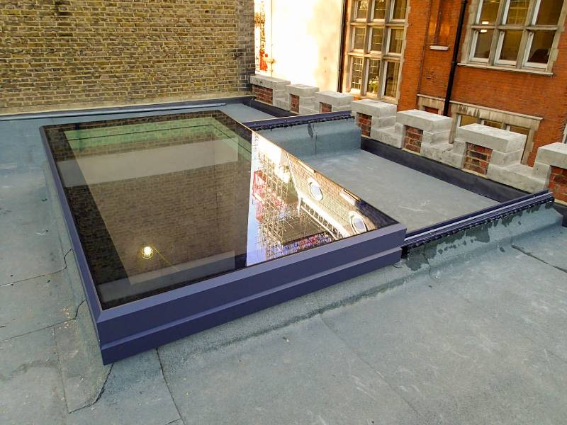 The Sliding Rooflight - SlideOver Roof