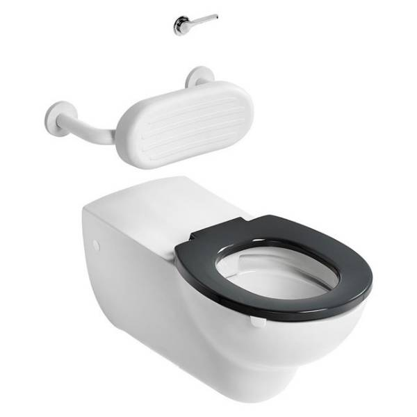 Contour 21+ 75cm Projection Wall Mounted Rimless WC Suite