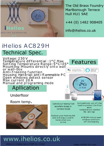 iHelios thermostat