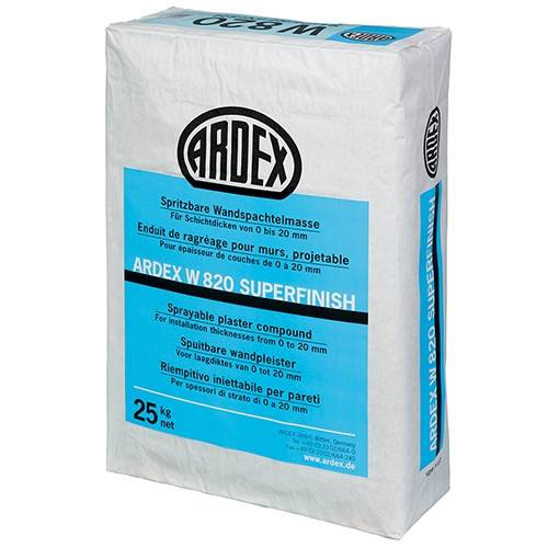 ARDEX W820 SUPERFINISH