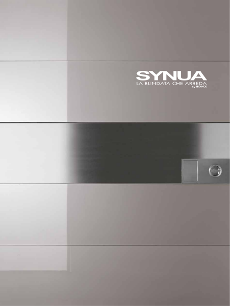 Synua: Pivot Door & Wall System