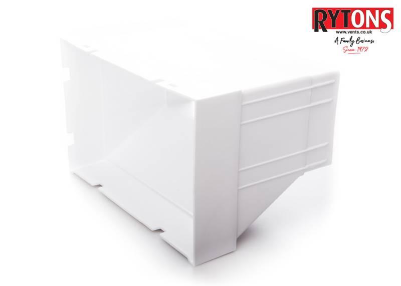 RD61MFAB2 - Rytons Double Air Brick Adaptor (220 x 90 mm)