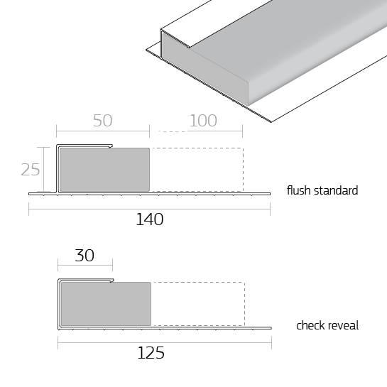 Dacatie Supafix Insulated Cavity Closer for window and door reveals