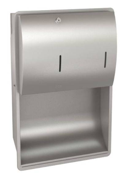 Combination Paper Towel and Soap Dispenser - STRX601E