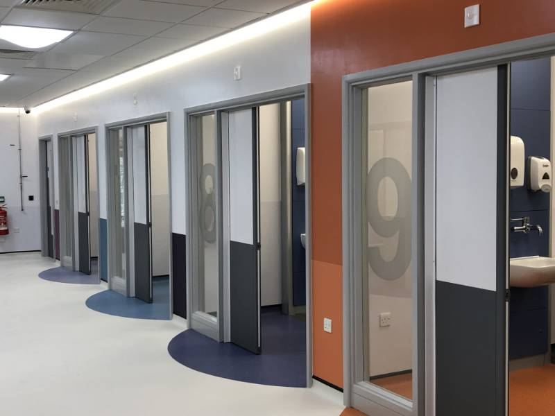 Anti-ligature products for Good Hope Hospital's new paediatric emergency department