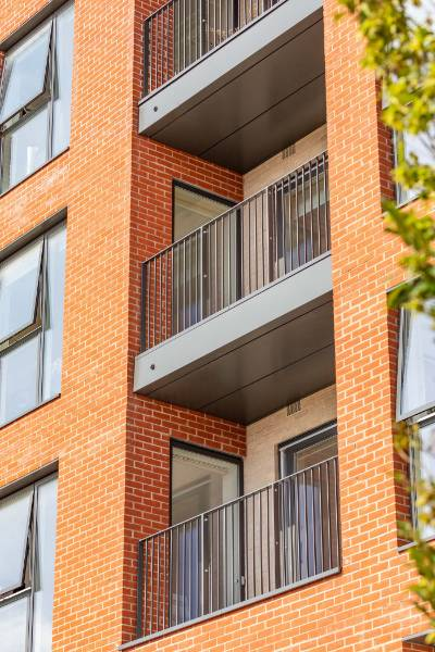 Balcony Soffit Cladding for Colindale Housing development