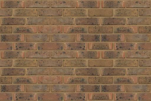 Crowborough Multicoloured Stock - Clay bricks