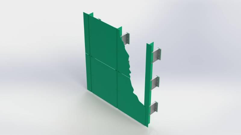 Bailey Fleet™ Face Fixed Rainscreen Panel