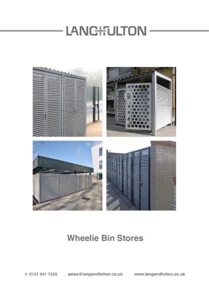 Wheelie Bin Stores and Bike Storage