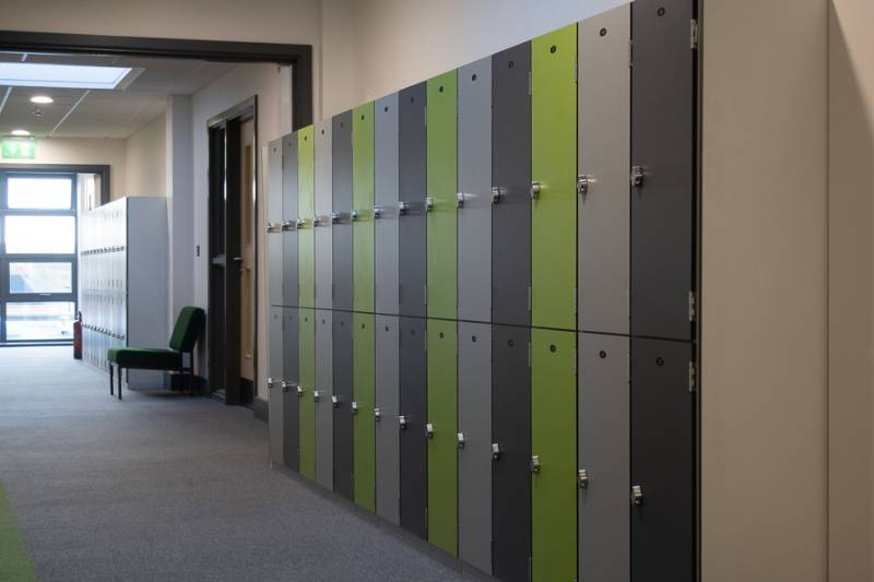Trowse Primary School Lockers Project