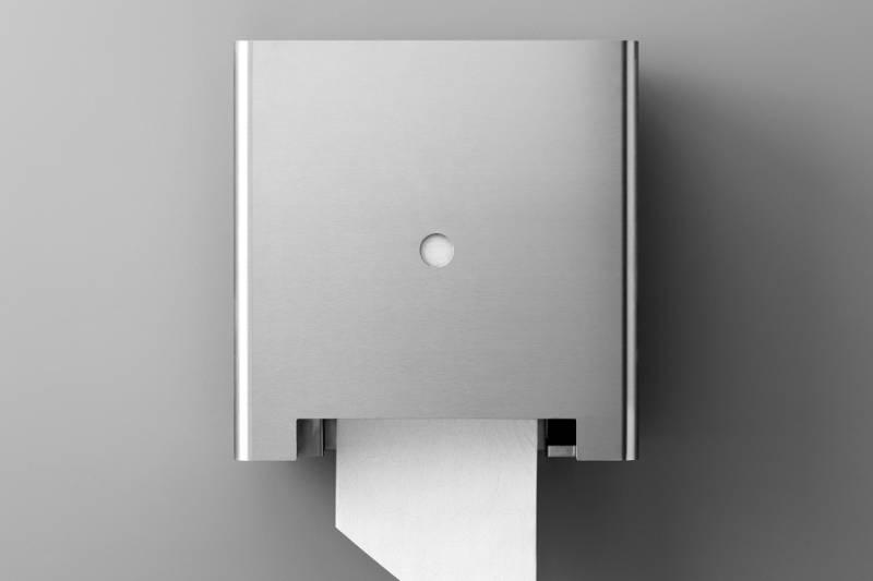 Touchless paper roll dispenser, 140 mm diameter roll