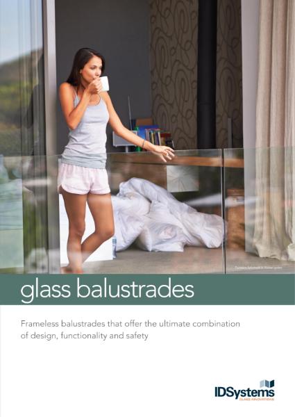 IDSystems glass balustrades brochure