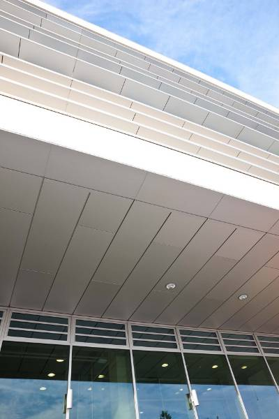 Unity A1PS (Interlocking Plank & Soffit System) Non-Combustible Aluminium Rainscreen Cladding