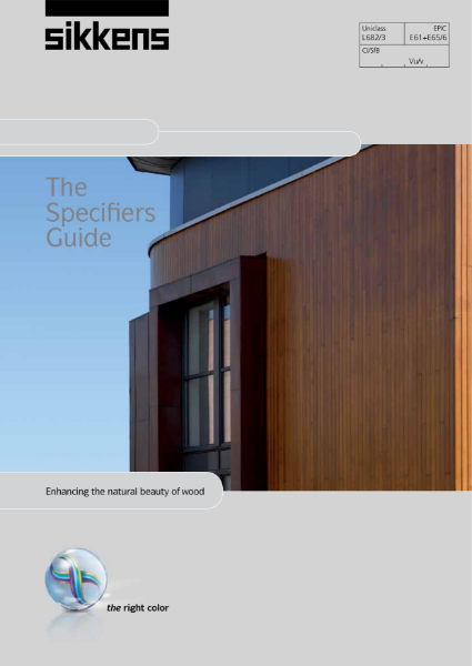Sikkens Specifier Guide