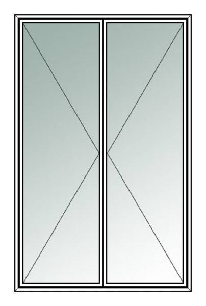 Secondary Glazing Double Hinged C7