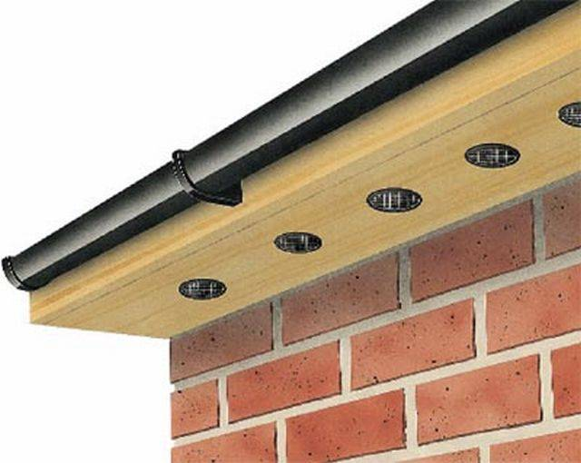 Push in Soffit Vent